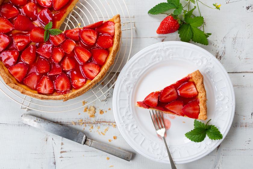 cuantas calorías tiene fresas con crema