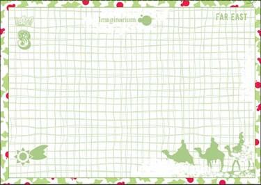 Carta a Papá Noel y a los Reyes Magos para imprimir