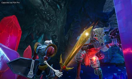 Los personajes y localizaciones de siempre crean una nueva atmósfera en el remake de 'MediEvil'