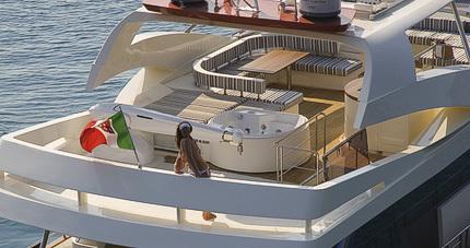 Aicon 85 Fly de Aicon Yachts - Exterior