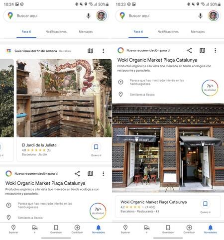 Google Maps Novedades