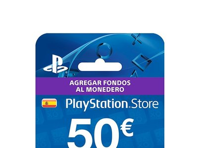Tarjeta prepago PlayStation Store de 50 euros, para PS3, PS4 o Vita, por 42,99 euros
