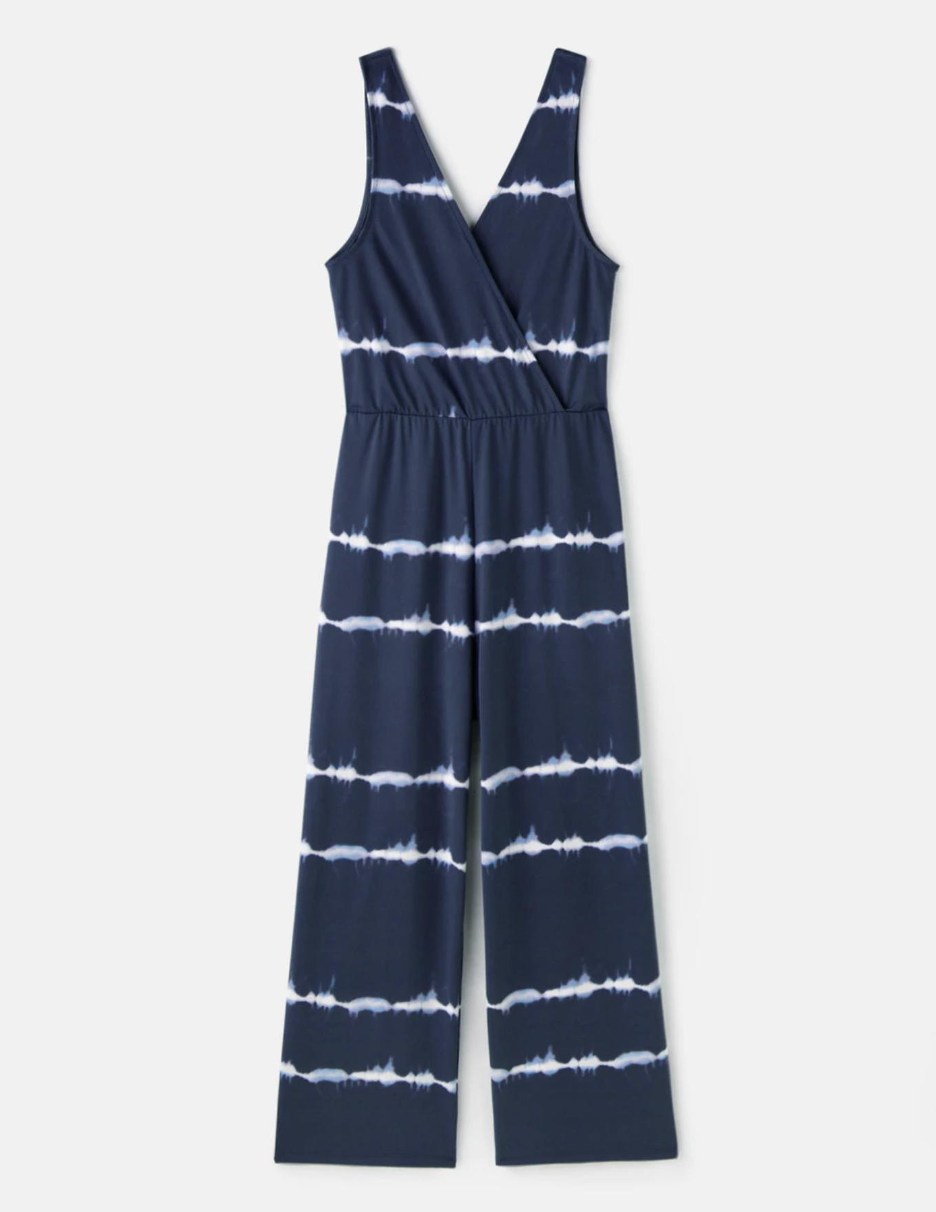 Mono crop de mujer con estampado tie dye