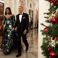 Michelle Obama nos roba el corazón (de nuevo) gracias a Gucci en la gala Kennedy Center Honors
