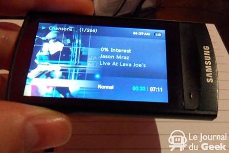 Samsung YP-R1, reproductor multimedia con pantalla táctil