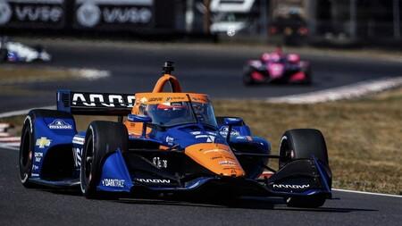 Roseqvist Portland Indycar 2021