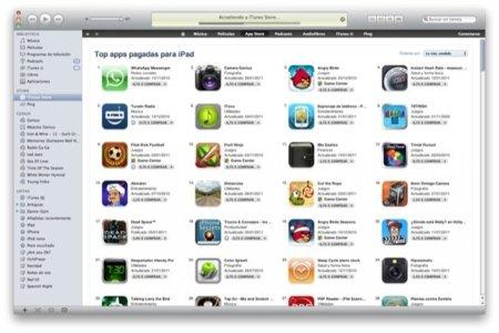 La mitad de los ingresos de la App Store se reparten únicamente entre 25 desarrolladores