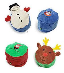 Gorros reversibles de Navidad para los niños