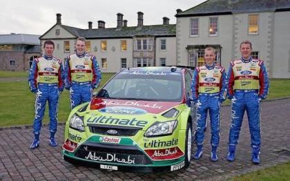 Presentado el equipo Ford Abu Dhabi Team