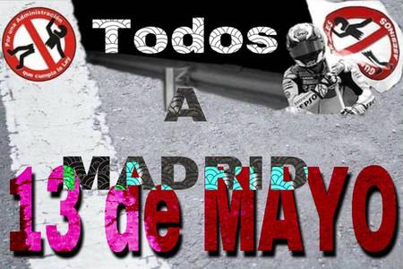 El 13 de mayo nos toca salir a la calle: manifestación en Madrid para defender la seguridad de las motos
