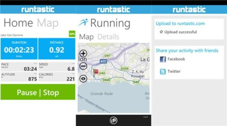 Runtastic trio
