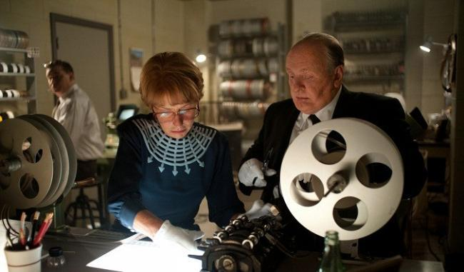Helen Mirren y Anthony Hopkins en 'Hitchock'
