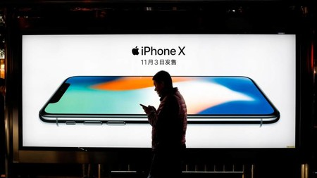 Iphone X China