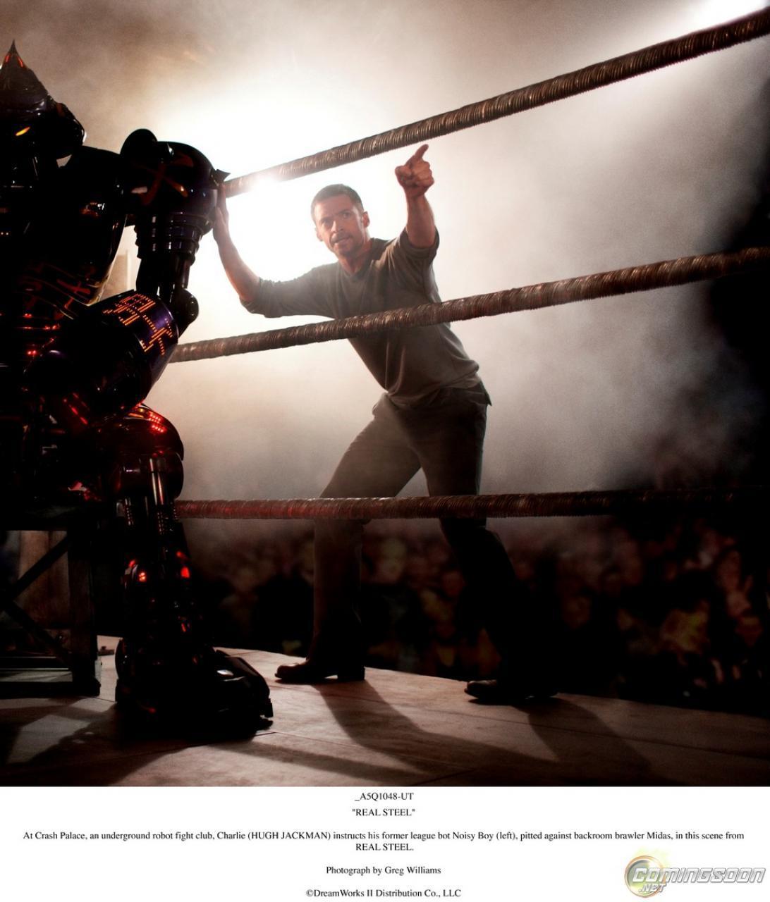 Foto de 'Real Steel' con Hugh Jackman, primeras imágenes oficiales (1/2)