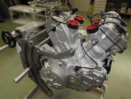 El motor australiano de la Aprilia RSV4 Factory