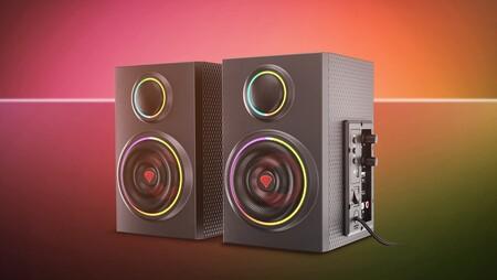 Genesis presenta los Helium 300BT ARGB, unos altavoces de escritorio con luces LED RGB para amenizar tus partidas