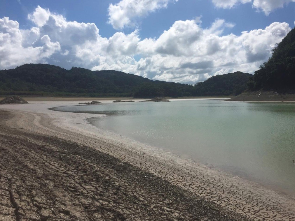 Una laguna de la selva Lacandona se secó en 15 días, y aunque el fenómeno es normal, la sequía en Chiapas no...