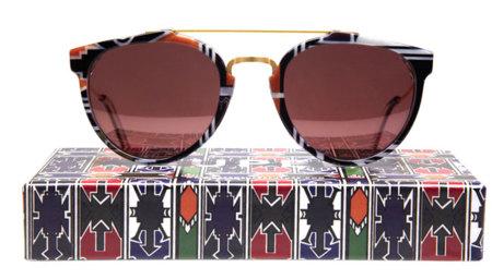 Super lanza unas gafas de sol étnicas: Ndebele