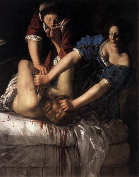 Artemisia Gentileschi Judith Beheading Holofernes Wga8563