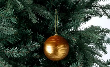 Bola Lentejuelas Navidad El Corte Ingles