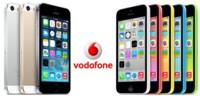 Precios iPhone 5S y iPhone 5C con Vodafone