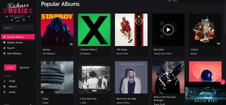 Escucha más de un millón de canciones en linea y completamente gratis con Kickass Music