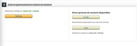 Amazon Soporte