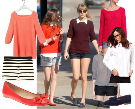 Taylor Swift Famosas shorts