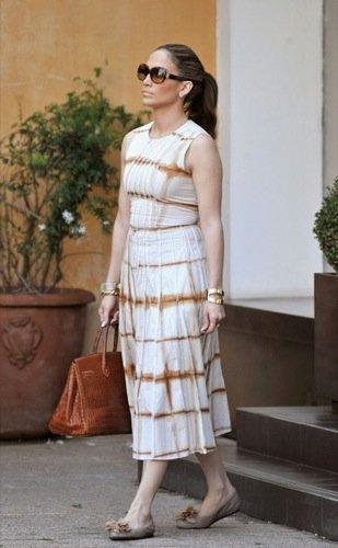Las gafas de sol de las famosas para la Primavera-Verano 2010: Jennifer López