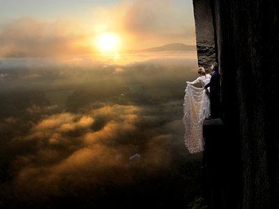 Llevando la fotografía de boda y retrato al borde del abismo con las imágenes de Philbrick Photo