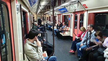 Vagones De Metro De Madrid Linea Circular
