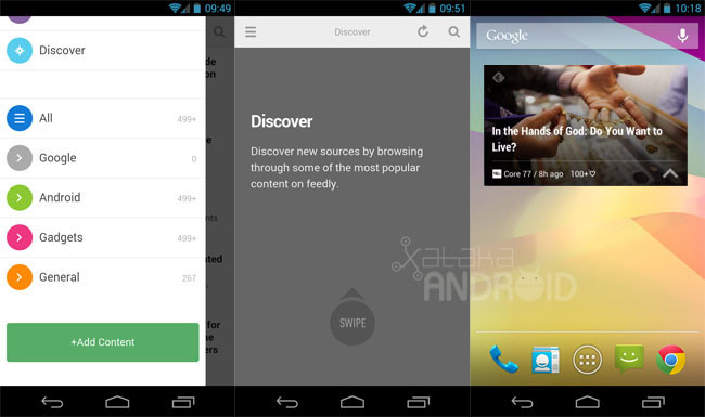 Feedly 17 para Android
