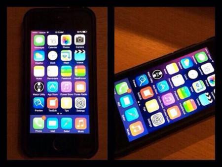 iOS 8 leaked image
