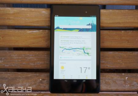 Nexus 7 Google Now