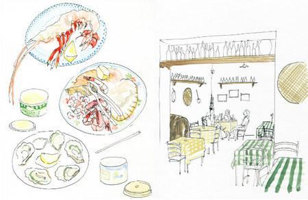 Las inspiradoras ilustraciones gastronómicas de Gattobravo