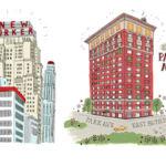 El megalómano proyecto de dibujar todos los edificios de Nueva York