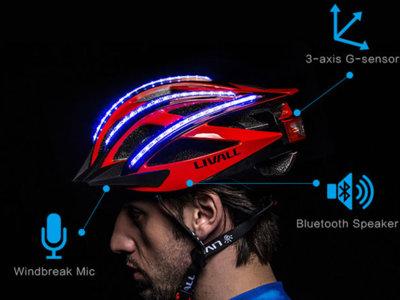 Livall: Casco inteligente para mejorar la seguridad de los ciclistas