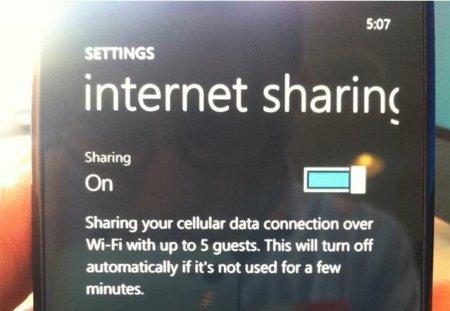 Sólo los nuevos Windows Phones 7.5 (Mango) tendrán hotspot WiFi