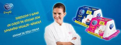 ¿Quieres conseguir un curso de cocina con Samantha de España? Atentos al Facebook de Burgo de Arias Lingote