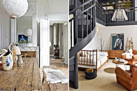 Casas que inspiran: un precioso apartamento del siglo XVIII en Lyon