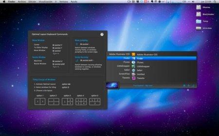 Optimal Layout, controla mediante el teclado la posición y tamaño de las ventanas de tus aplicaciones