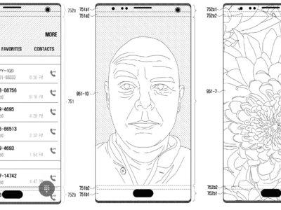 Pantallas con agujeros: la solución para seguir expandiendo las pantallas, según patente de Samsung