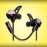Estos audífonos para gamers se pueden comprar por solo 203 pesos en Amazon México: con doble micrófono, accesorios y envío gratis