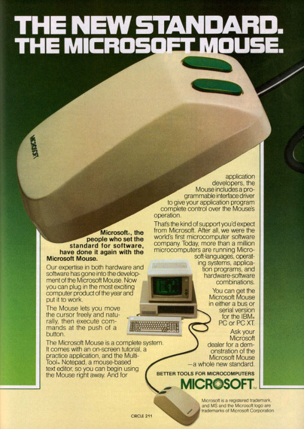 Microsoft First Mouse