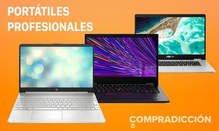 16 portátiles de trabajo de ASUS, Acer, Lenovo, HP o Huawei rebajados esta semana en Amazon