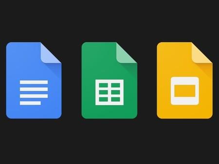 """Nuevas apps de Google reciben Modo Oscuro en Android: Docs, Sheets y Slides con interfaz para """"trabajar de noche"""""""