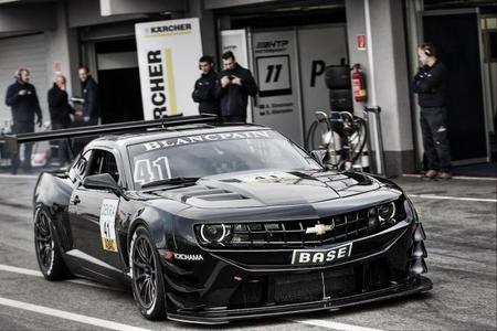 SaReNi continúa con el desarrollo del Chevrolet Camaro GT3
