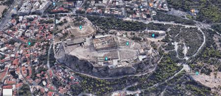 Atenas Google Maps