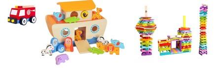 Juguetes educativos de madera Tooky Toy desde 7,90 euros en Amazon