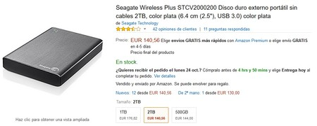 Seagate Wireless Plus Stcv2000200 Amazon